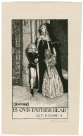 King Richard III, a set of seven original drawings [graphic] / [Byam Shaw].