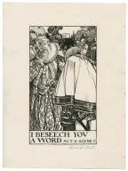 Love's labours lost, a set of seven original drawings [graphic] / [Byam Shaw].
