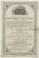Shakspeare's Birth-Place, at Stratford-upon-Avon