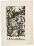 Taming of the shrew, a set of seven original drawings [graphic] / [Byam Shaw].