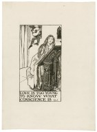 Sonnets, a set of seven original drawings [graphic] / [Byam Shaw].