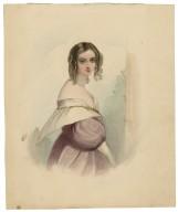 [Portrait of Desdemona from Shakespeare's Othello] [graphic] / [J. Smith].