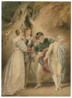 [The revelation of Sebastian as Julia, Two gentlemen of Verona, act 5, sc. 4] [graphic] / [Thomas Stothard].