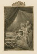 Richard III, Act V, Sc. 3, the ghost scene in Richard's tent [graphic] / [Thomas Stothard].