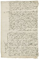 Letter from John Chadwick to Walter Bagot