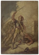 [A set of seven paintings depicting the seven ages of man from As you like it, act 2, scene 7] [graphic].