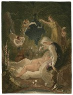 Shakespeare the infant, surrounded by sprites and muses [graphic] / [Thomas Uwins].
