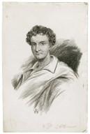 [Portrait of Junius Brutus Booth] [graphic] / A.H.W.