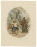 [Illustrations to Shakespeare - small vignettes] [graphic] / [John Massey Wright].