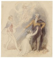 [Rough drawings (small) for scenes from Shakespeare] [graphic] / [John Massey Wright].