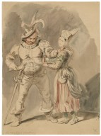 [A scene from King Henry IV, pt. 2 or Merry wives] [graphic] / [John Wright].
