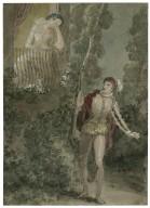 [A scene from Romeo and Juliet - the balcony scene] [graphic] / [John Wright].