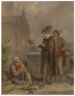 [Scenes from Hamlet and Romeo and Juliet] [graphic] / [John Massey Wright].