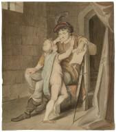 [Arthur pleading with Hubert for his life - King John, act IV, sc. 1] [graphic] / [John Wright].