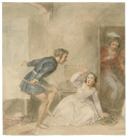 [Scenes from All's well and Taming of the shrew] [graphic] / [John William Wright].