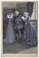 [The merry wives of Windsor, III, 1, at her Majesty's Theatre, June 28, 1902] [graphic] / [A.T. Ireetier].