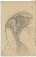 [Study of a witch, for painting of John Henderson as Macbeth] [graphic] / [George Romney].