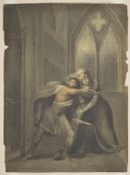[Macbeth and Lady Macbeth after the death of Duncan] [graphic] / [Richard Westall].