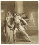[Macbeth and Lady Macbeth] [graphic] / H. Bone.