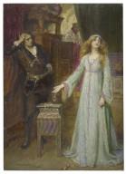 [Hamlet, III, 1] [graphic] / Chas. A. Buchel.