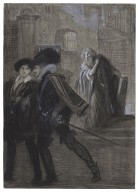 [Merchant of Venice, III, 1, as acted at the Garrick Theatre, Arthur Bourchier (Shylock)] [graphic] / Charles Buchel.