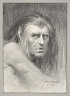 [The tempest at His Majesty's Theatre, Herbert Beerbohm Tree as Caliban] [graphic] / Chas. A. Buchel.