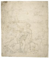 Venus and Adonis [apparently after Titian's painting] [graphic] / [Agostino Carracci].