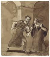 [Macbeth, II, 2?] [graphic] / [John James Chalon].