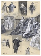 Special matinee by amateurs at [the] Garrick Theatre July 19--, in aid [of] Bushey Heath Hospital, of Rosencrantz and Guildenstern by W.S. Gilbert [graphic] / Ralph Cleaver.