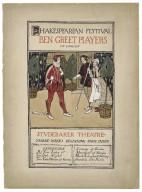 Shakespearean festival, Ben Greet Players of London, Studebaker Theater [graphic] / Sarah K. Smith.