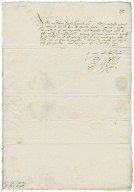 Letter from Robert Devereux, Earl of Essex, the Court, to Richard Bagot and Sir Edward Littleton
