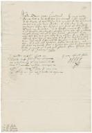 Letter from Robert Devereux, Earl of Essex, Hampton Court, to Sir Edward Littleton, Sir Edward Aston, and Richard Bagot