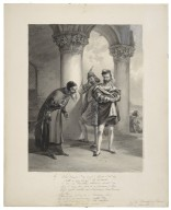 """Shy. """"What should I say to you? ... I'll lend you thus much monies?"""", The merchant of Venice, act I, scene III [graphic] / F.O.C. Darley, 1884."""