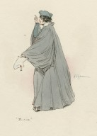 [Costume sketches for characters from Merchant of Venice, Merry wives of Windsor, and Twelfth night] [graphic] / H.C. Green.