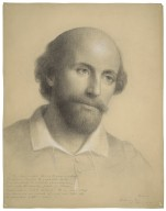 The head of Shakespeare, studies for an ideal portrait [graphic] / Geo. Henry Hall.