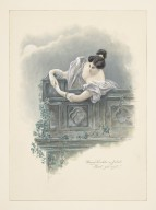 "Romeo and Juliet, Fanny Kemble as Juliet, ""Sweet, good night!"" [graphic]."