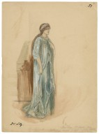 [Costume designs for the Viola Allen production of Winter's tale at the Knickerbocker Theatre] [graphic] / Tom Heslewood.
