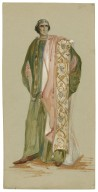 [Costume designs for the 1906 Viola Allen production of Cymbeline] [graphic].