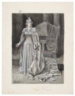 [Miss Ellen Terry as Queen Katherine, King Henry VIII] [graphic] / C.I. Hollings del.