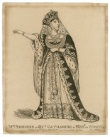 Mrs. Siddons as Queen Katherine [in Shakespeare's] Henry the Eighth [graphic].