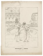 Merchant of Venice [a set of 9 engravings illustrating scenes from the play] [graphic].