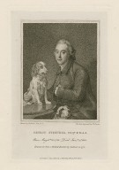 George Steevens, esqr.: engraved from a portrait [graphic] / painted by Zoffanii in 1774 ; the face engraved by W. Evans.