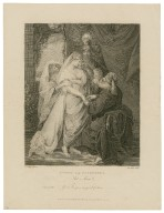 Antony and Cleopatra, act 1, scene 2, Charmian: Good sir, give me good fortune [graphic] / Revd. W. Peters pinxit. ; John Hall sculp.