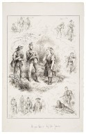 As you like it by John Jellicoe [Coombe Woods, June 6, 1885, Mr. Hermann Vezin as Jacques, Lady Archibald Campbell as Orlando, Mr. Ponsonby as the first lord] [graphic] / John Jellicoe delt.