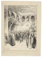 [Macbeth, II, Sir Henry Irving as Macbeth, Ellen Terry as Lady Macbeth, Lyceum Theatre, January 26, 1889] [graphic] / J. Jellicoe ; H. Railton.