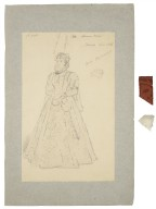 [Costume designs for Byron's Werner] [graphic] / Seymour Lucas, 1887.