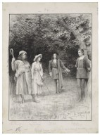 Shakespeare's pastoral comedy As you like it performed by the Herkomer students in the Manor House grounds at Bushey [graphic] / G. Grenville Manton.