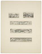 [Othello, five miscellaneous page decorations] [graphic] / [Ludovico Marchetti].