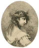 [Hamlet, portrait of Ophelia] [graphic] / [Mortimer].