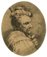 [King Henry IV, portrait of Bardolph] [graphic] / [John Hamilton Mortimer].